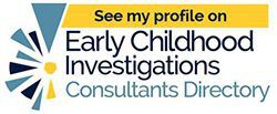 Early Childhood Consultants Directory Badge, Fran Simon, M.Ed